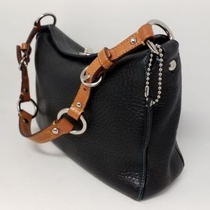 COACH Chelsea Turnlock Pebbled Leather Hobo Bag